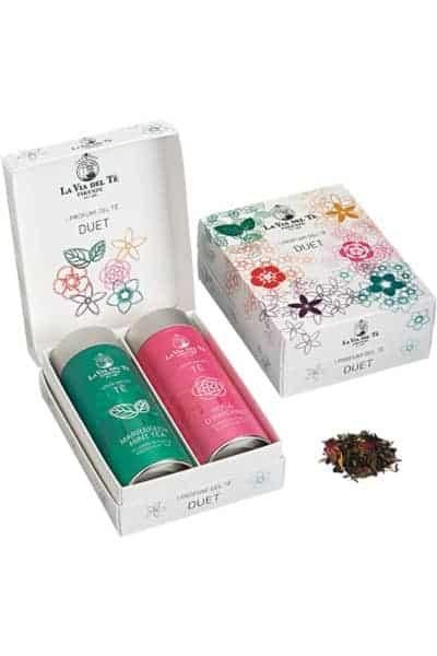 La via del té - Gift Box Marrakech Mint & Rosa D'Inverno