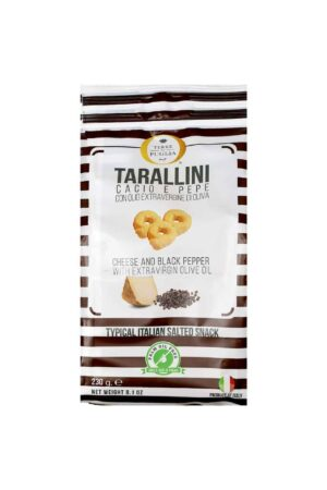 Terre di Puglia - Tarallini Olive Oil Cheese Black Pepper