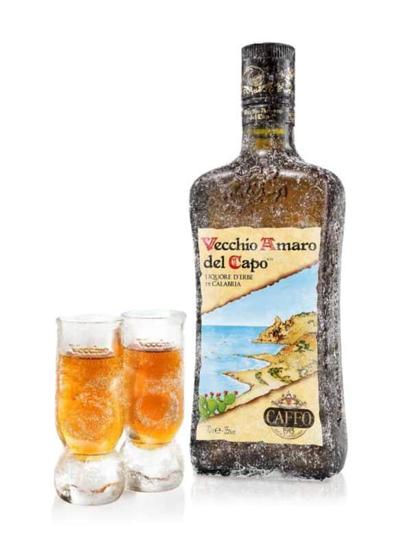 Vecchio Amaro del Capo - Amaro Del Capo Giftbox + 2 Glasses